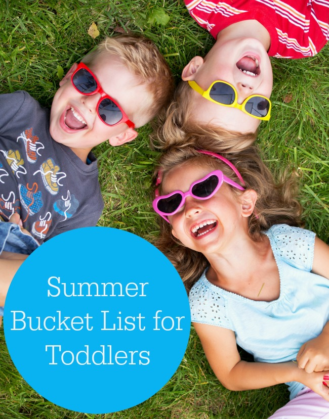 toddler summer activities