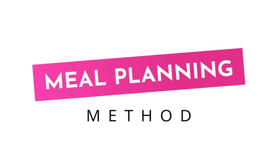 Meal Planning Method - a course on healthy meal planning