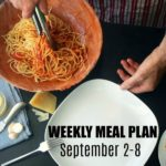 WEEKLY MEAL PLAN – September 2-8