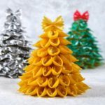 Pasta Christmas Tree Craft Tutorial