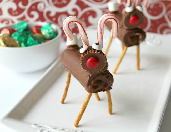 reindeer candy treats