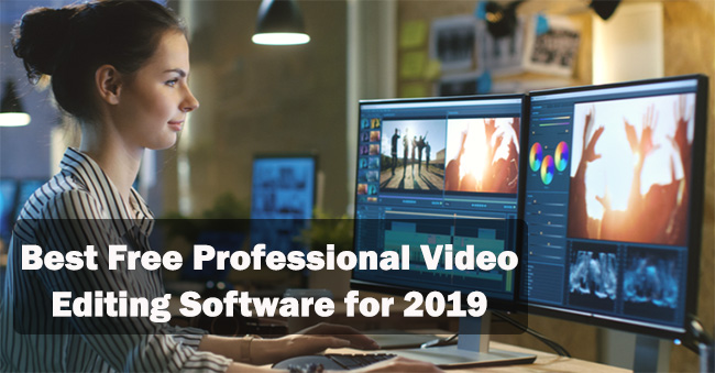 The Best Free Professional Video-Editing Software for 2020