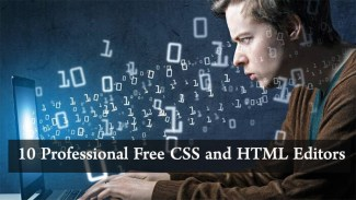 10 Professional Free CSS and HTML Editors