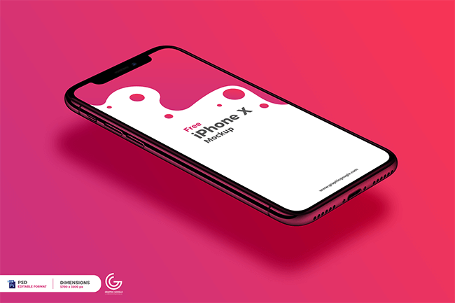 Free-Perspective-View-iPhone-X-Mockup