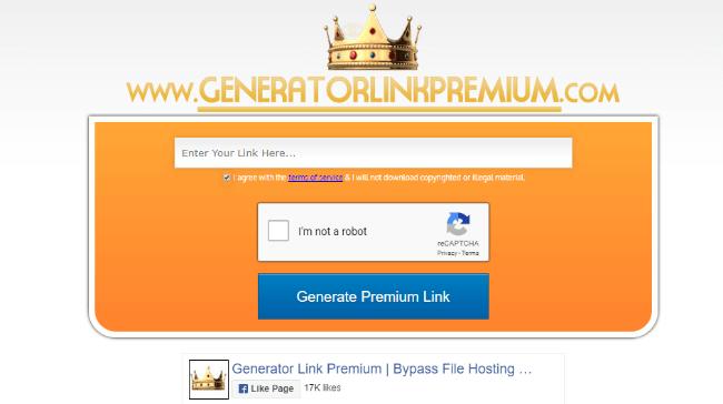 Generator Link Premium