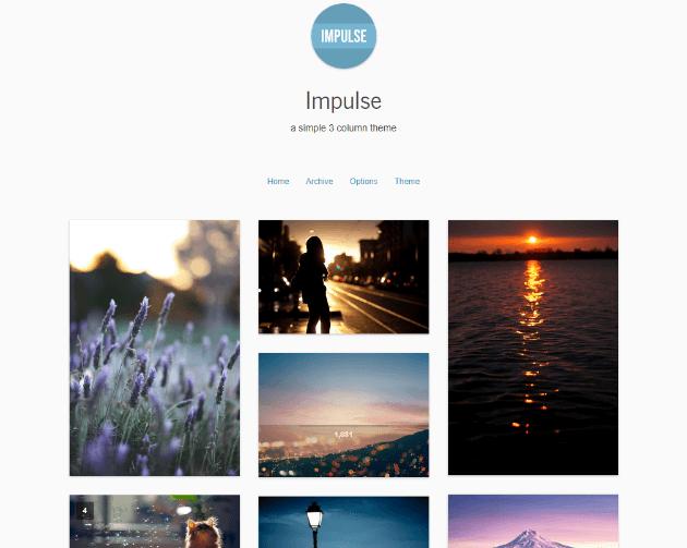 25 Highly Flexible Best Minimal Free Tumblr Themes 2020