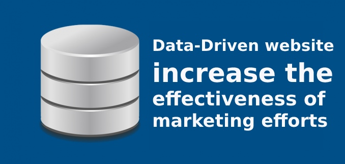 How Can a Data-Driven Website Increase the Effectiveness of Your Marketing efforts?