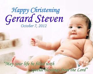 Gerard-Steven_Baptismal