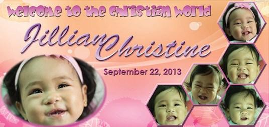 Jillian-Christening