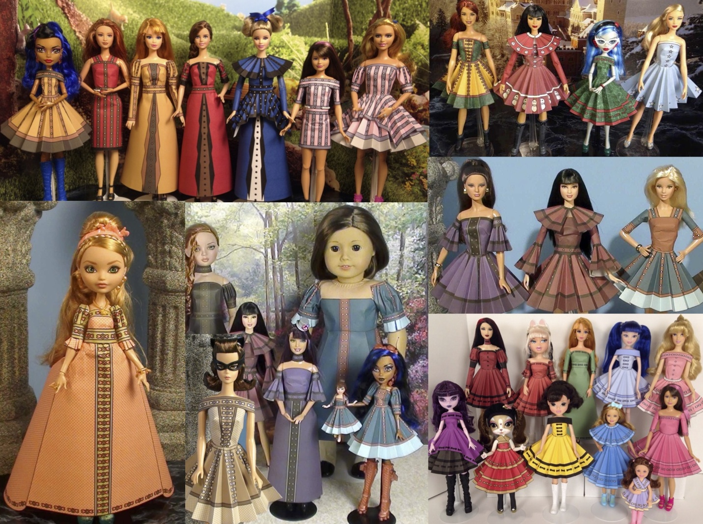 Paper Doll Printables Cake Ideas And Designs