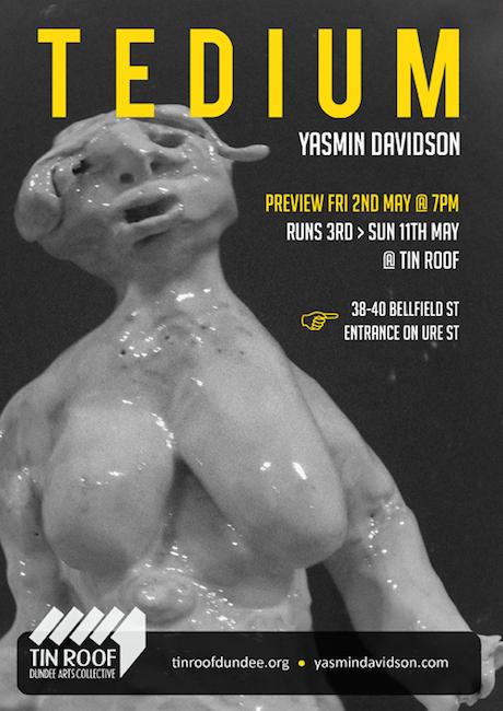 Tedium Poster 500x
