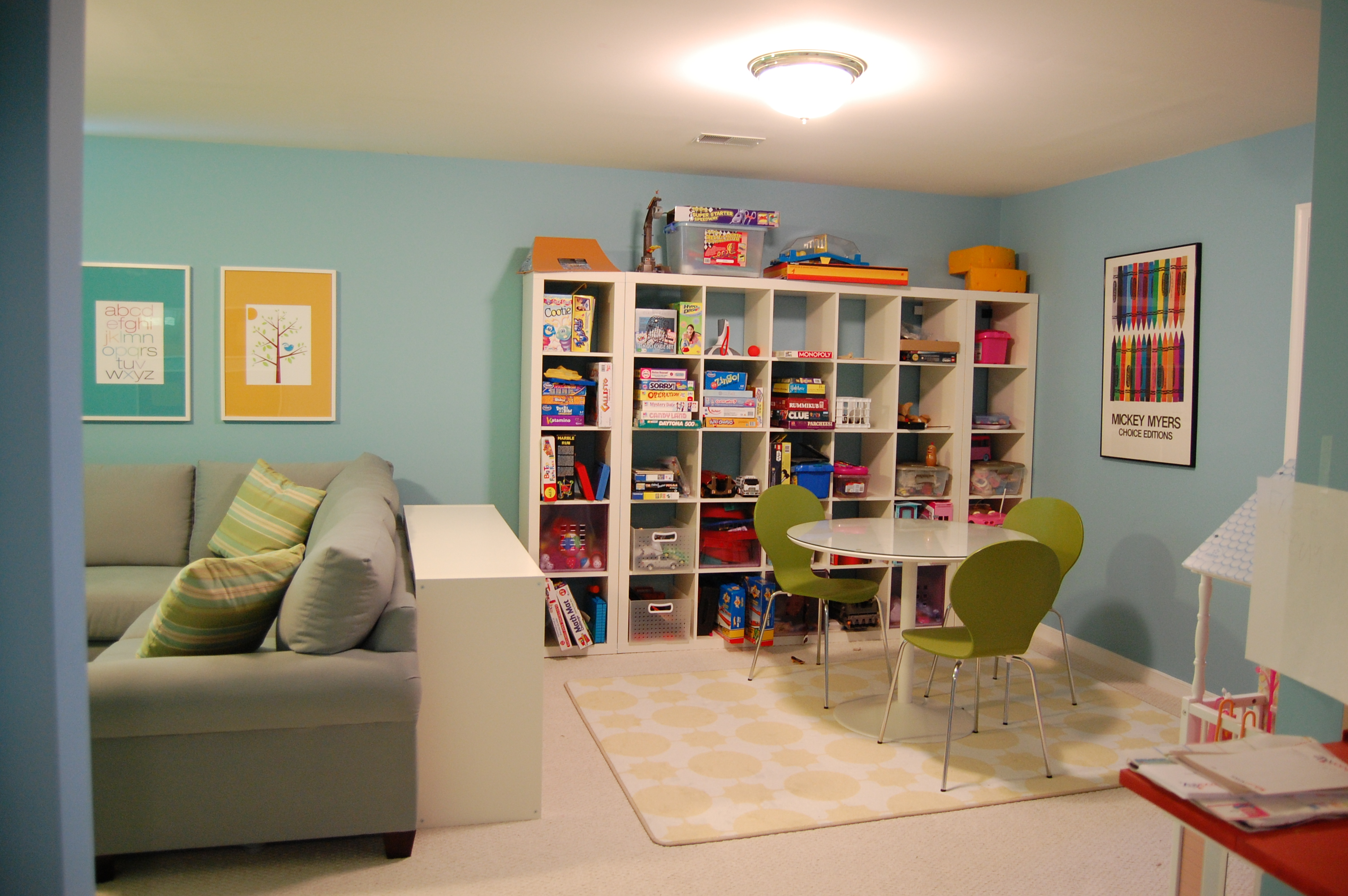ideas for a playroom | A Decorator's Journey on Fun Living Room Ideas  id=87439