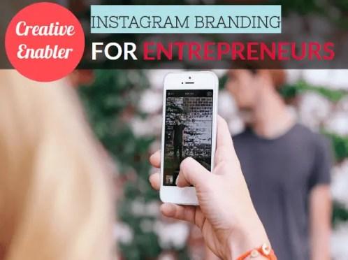 Instagram Branding for Entrepreneurs