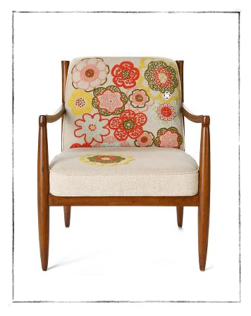 Calandria Armchair from Anthropologie