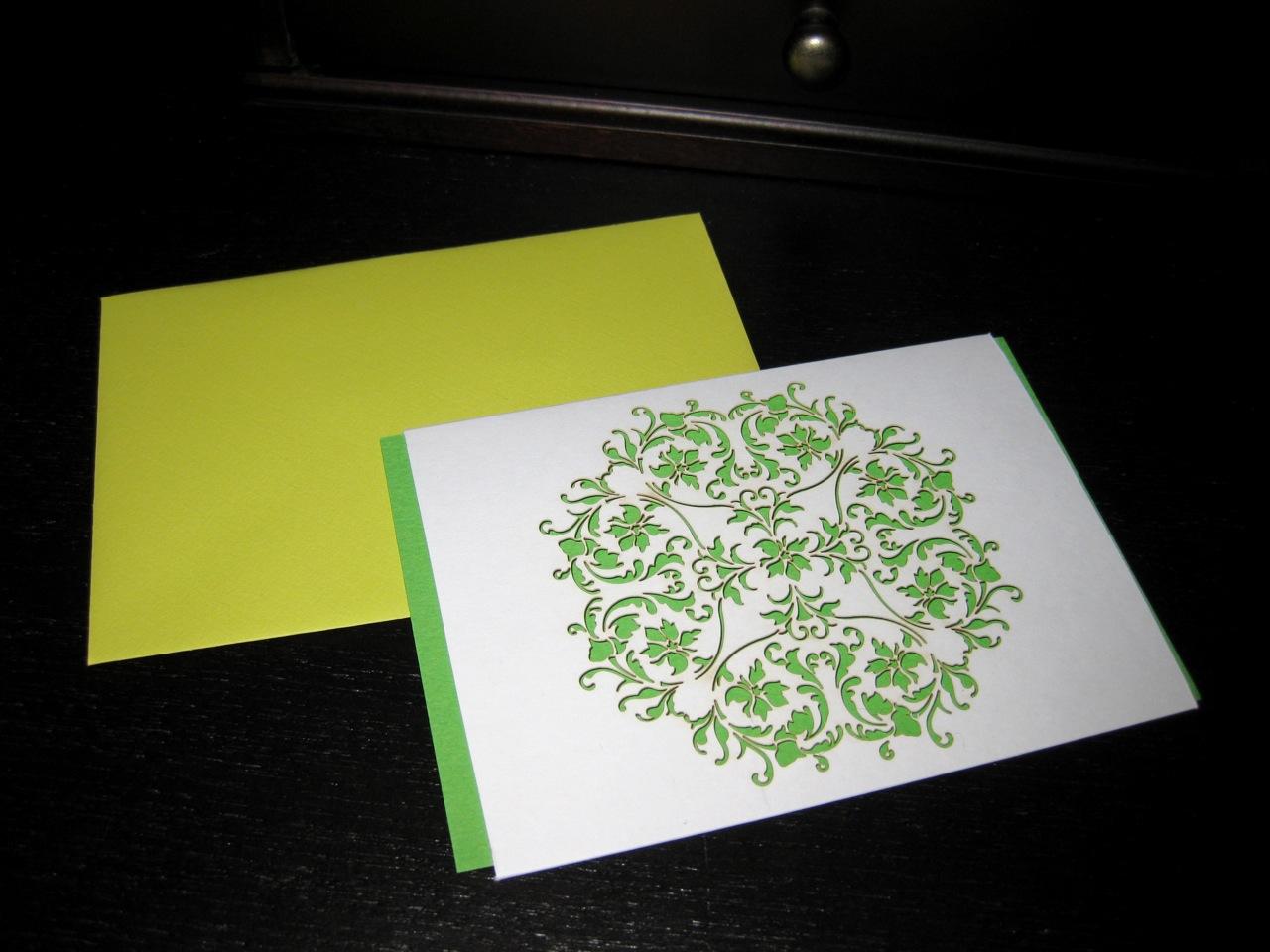 laser cut card by Charlyn Koo