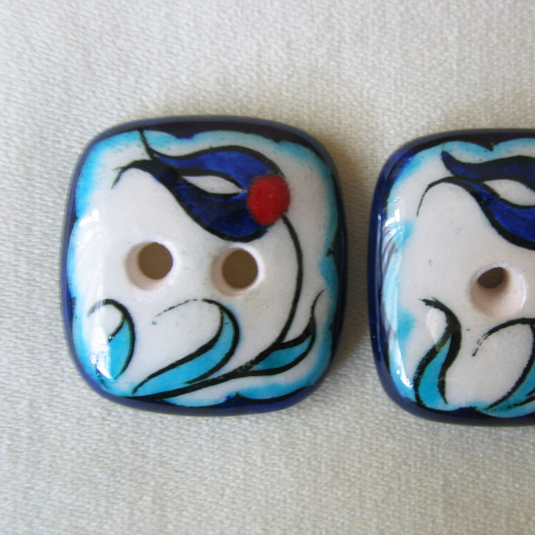 Iznik Buttons by loan recipient Intarsia Concept