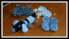 A gift for a friend! Baby set