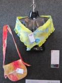 Sand/sea wrap and red desert bag