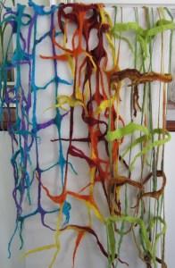 Skinny framework network scarves
