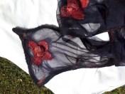Black scarf 2