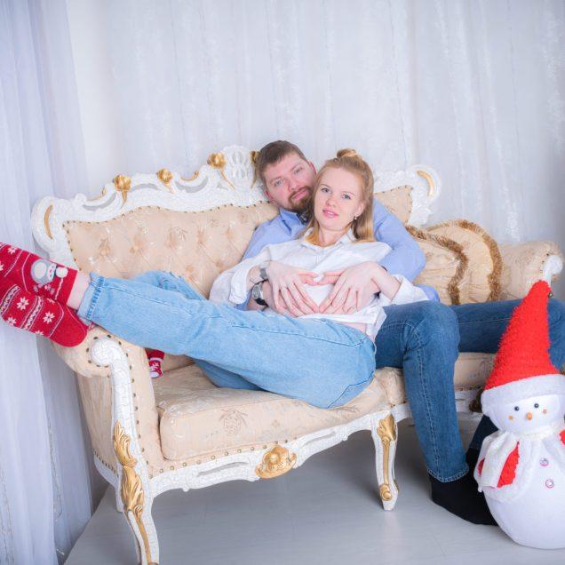 Новогодняя фотосессия 2016 - Владимир и Кристина