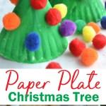 Paper Plate Christmas Tree Kids Craft Creative Family Fun