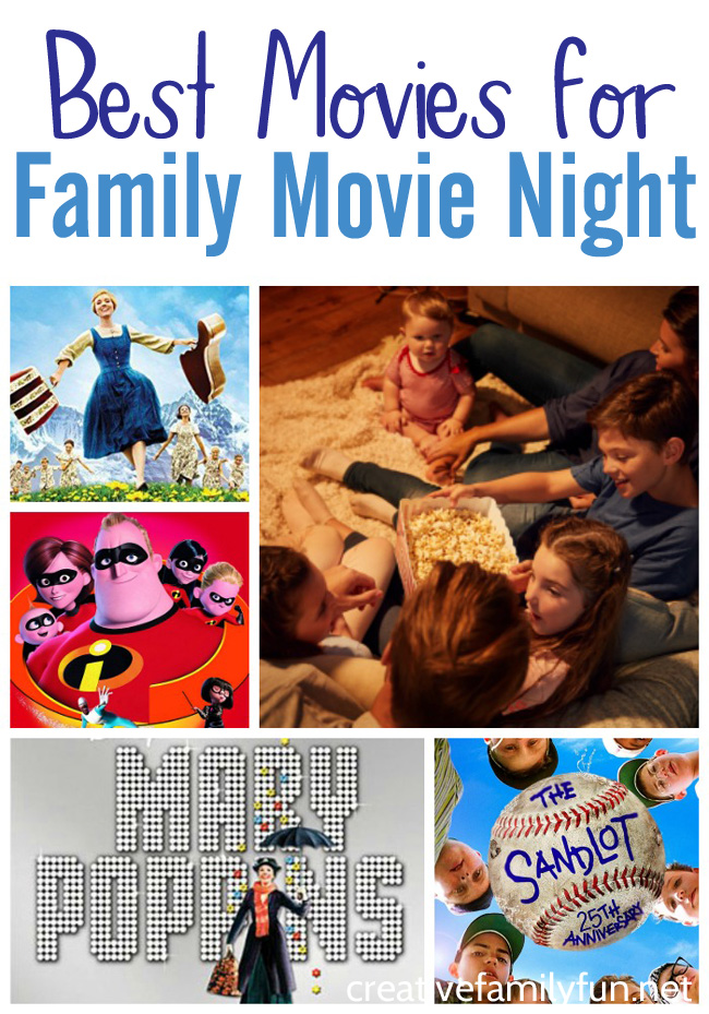The Best Family Friendly Movies for Family Night