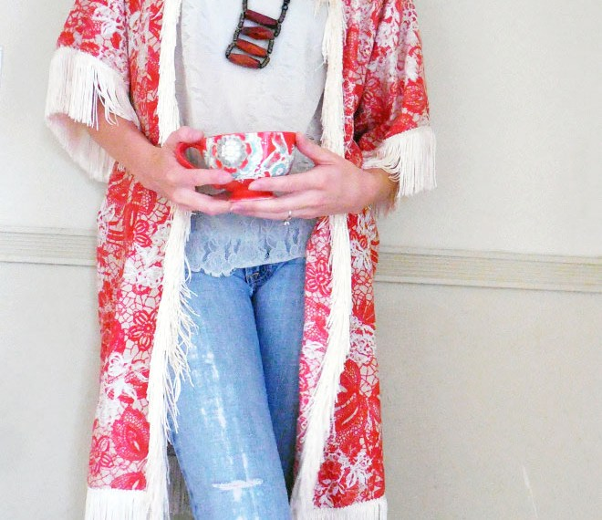Make This DIY Kimono