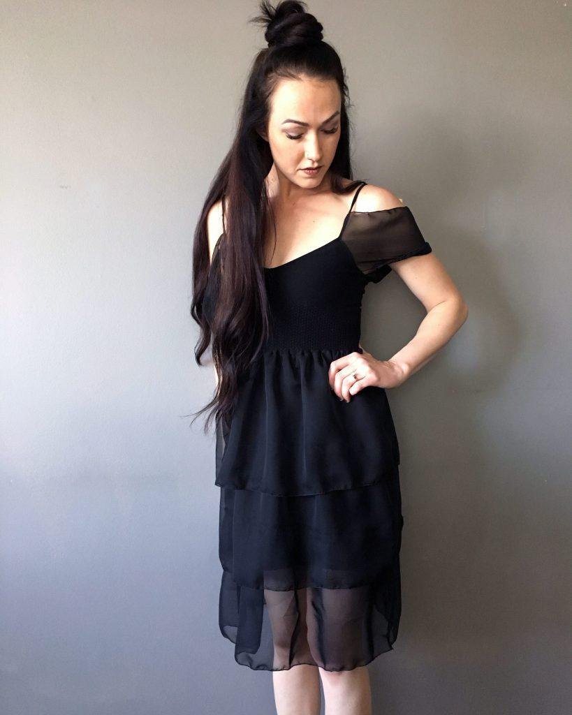 Little Black Dress Makeover. Full Tutorial Here