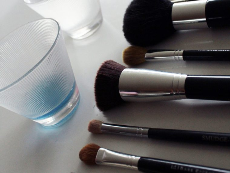 The Easiest Way To Clean Makeup Brushes
