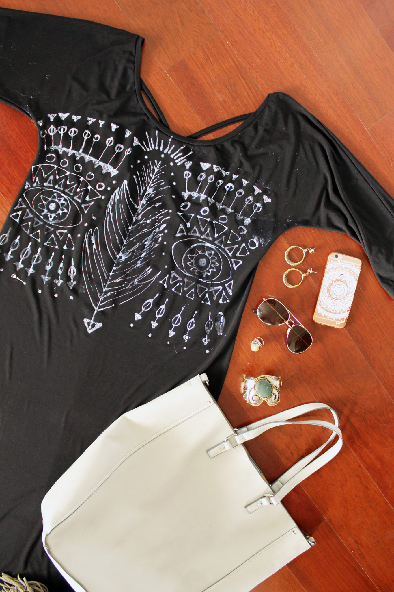 How to make a DIY Bleach Pen Dress. Full step by step Tutorial