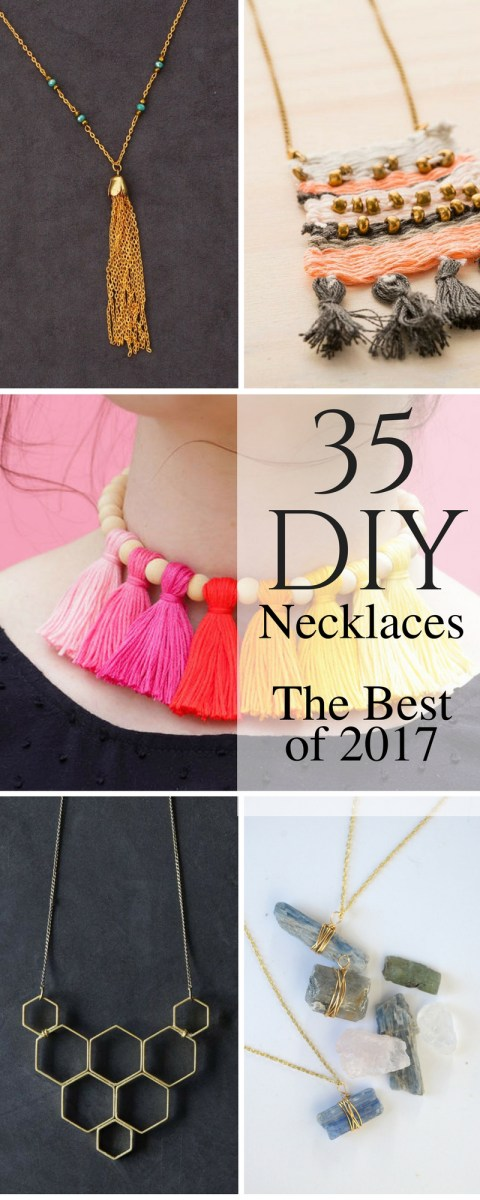 The 35 Best Necklace DIYs of 2018