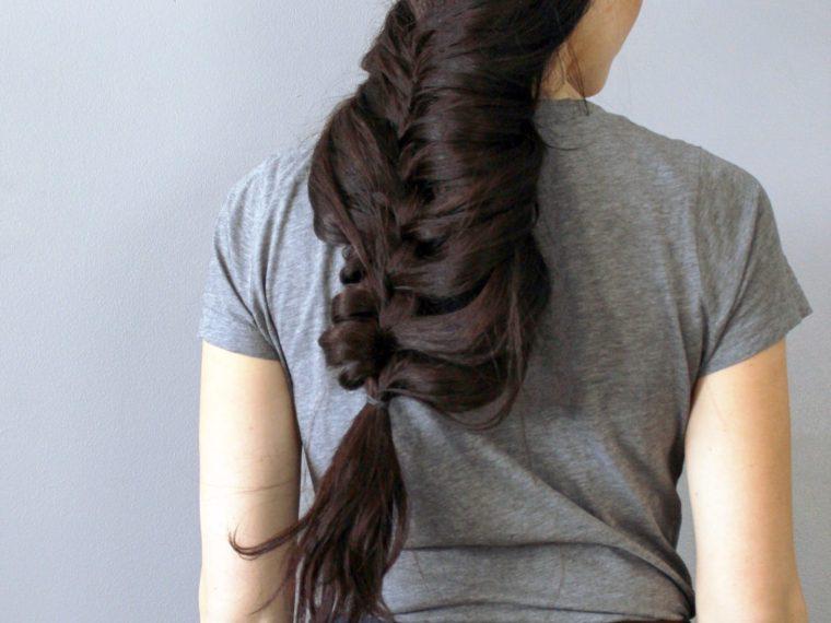 DIY Mermaid Braid