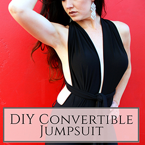 DIY convertible jumpsuit