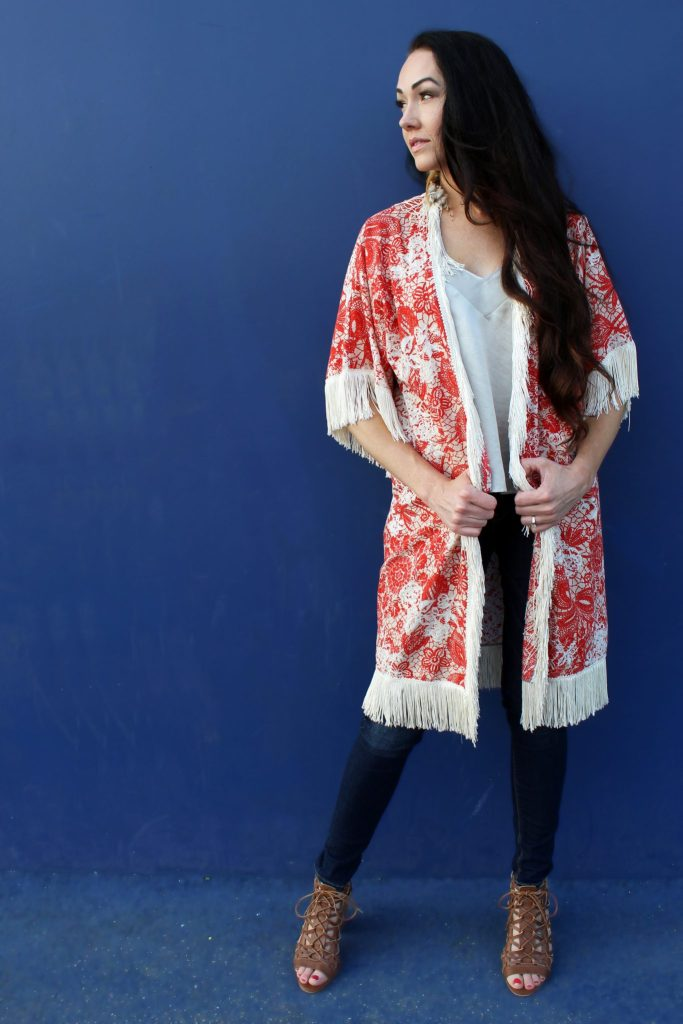 How to make a boho with sleeves