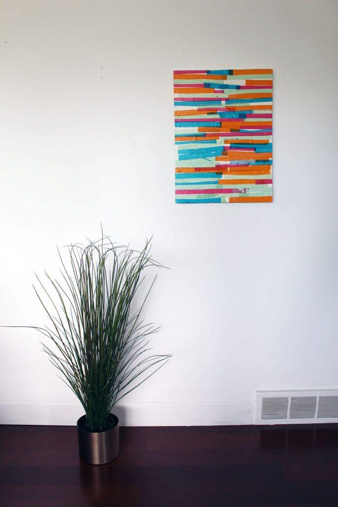 DIY Tissue Paper Art Prroject!