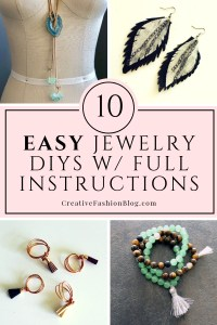 10 jewelry making tutorials with full instructions