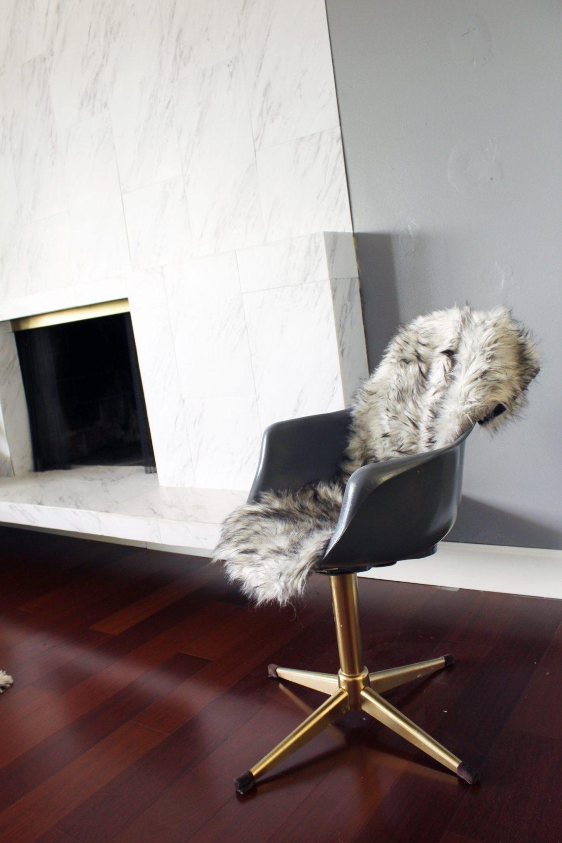 DIY Midcentury Modern Chair Makeover Tutorial