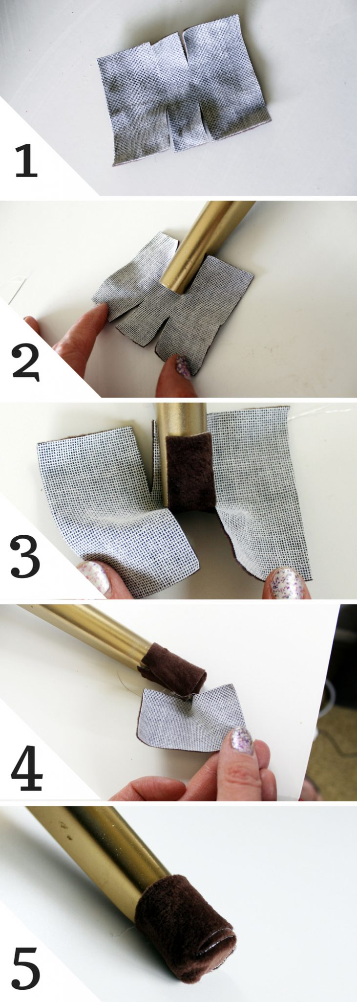 How to cover chair legs to prevent scratching