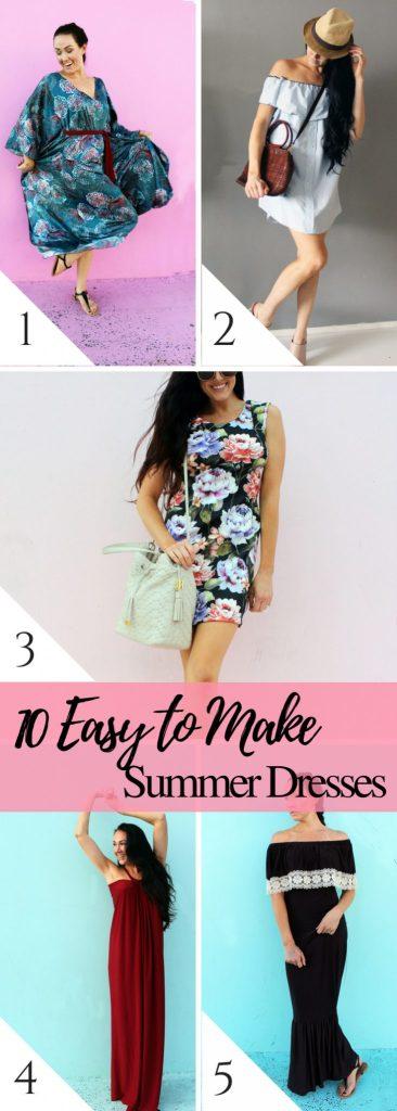 10 easy summer dresses