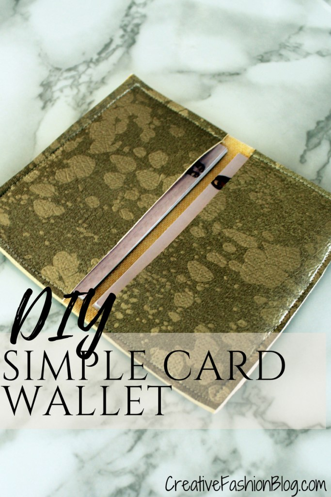 Easy diy business card wallet tutorial creative fashion blog diy faux suede business card holder wallet tutorial with printable pdf pattern reheart