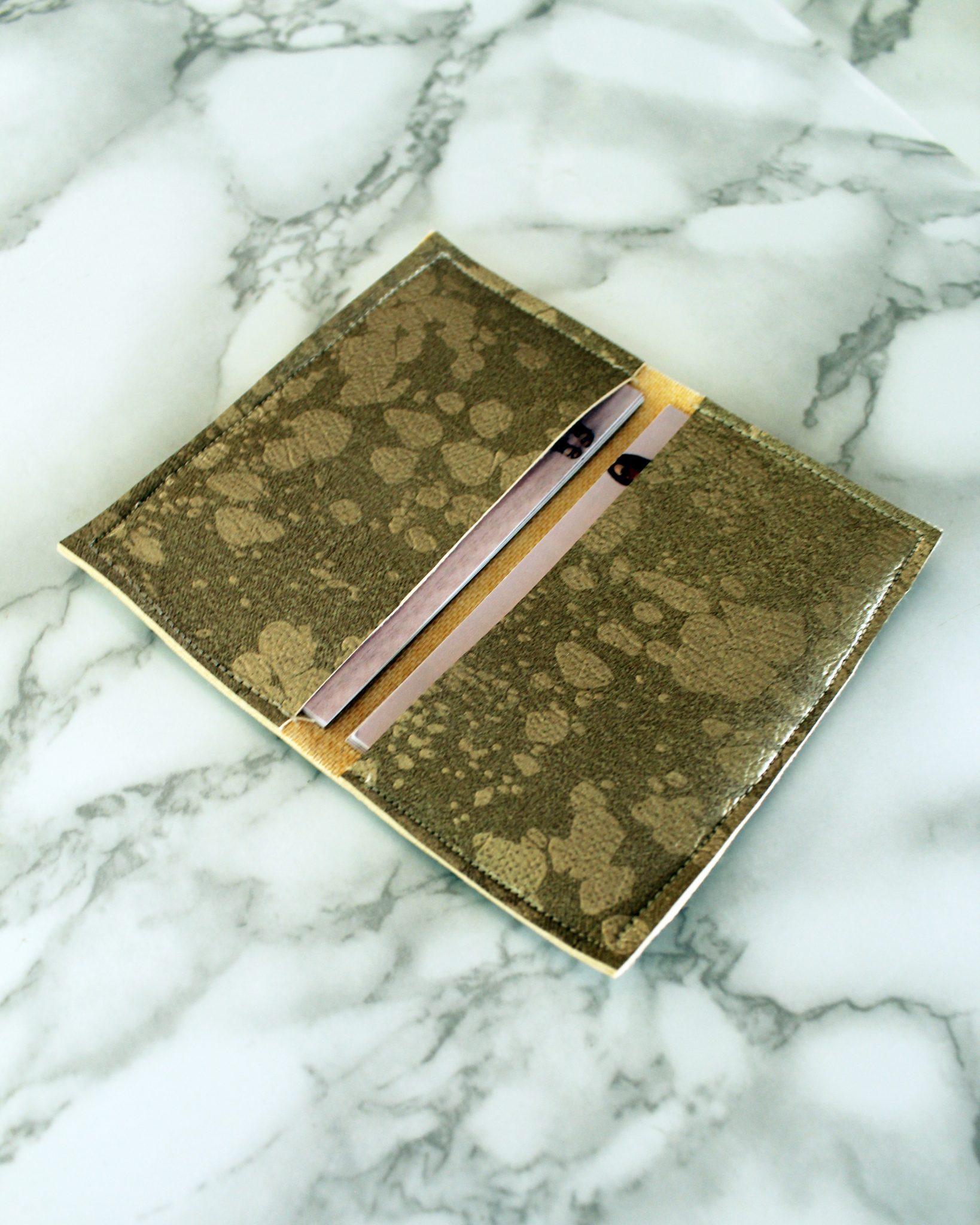 easy diy business card wallet tutorial  creative fashion blog