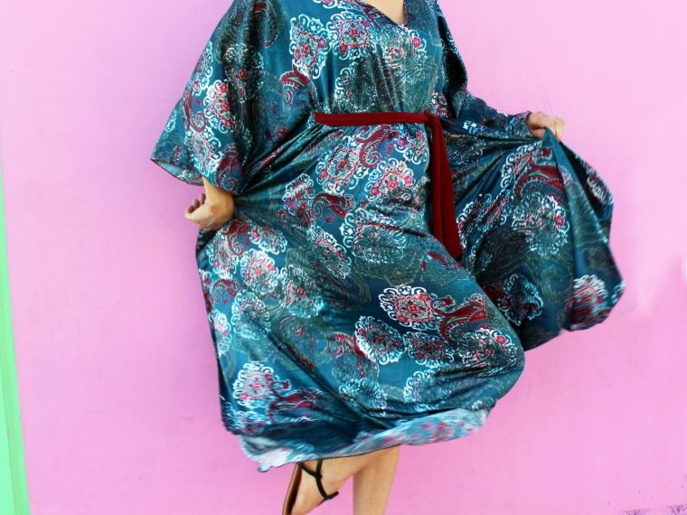 how to make an easy diy caftan