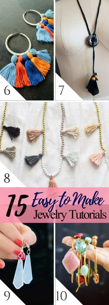 15 Easy Jewelry DIY Tutorials for the best handmade holiday gifts