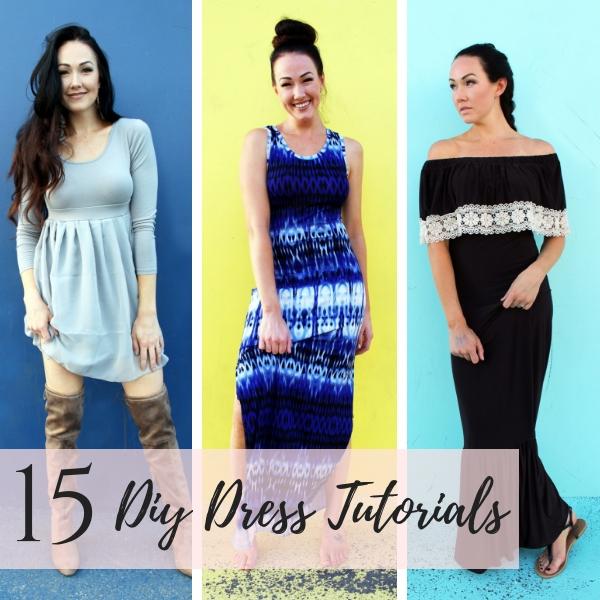 15 Diy dresses