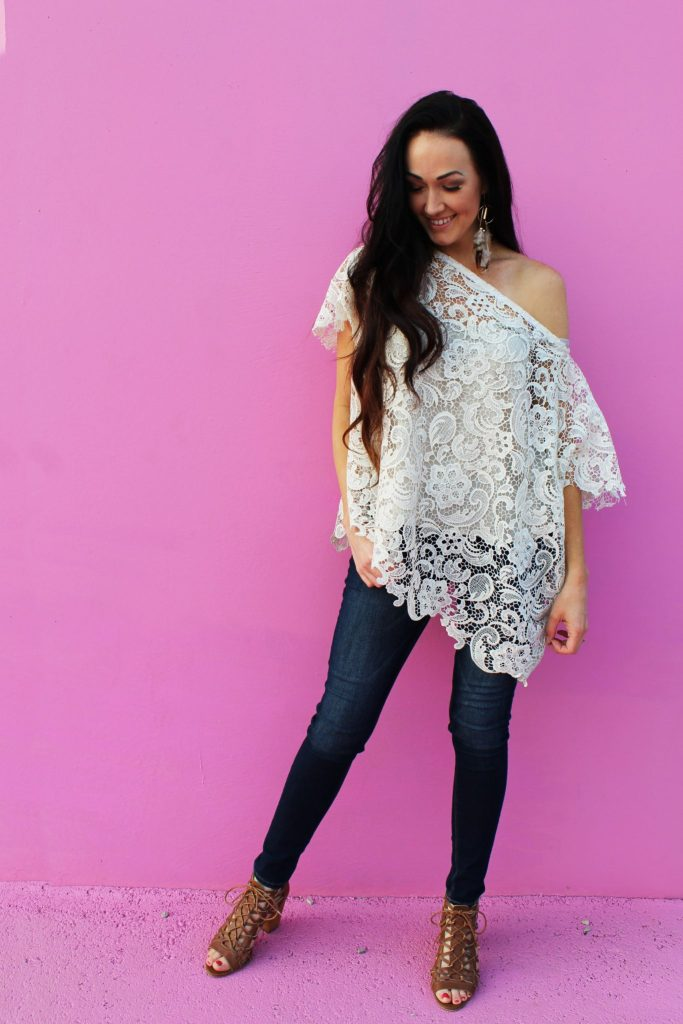 How to make an easy DIY lace shirt with this simple fashion top clothing beginner sewing tutorial