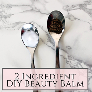 DIY beauty balm