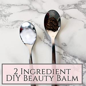 DIY beauty balm