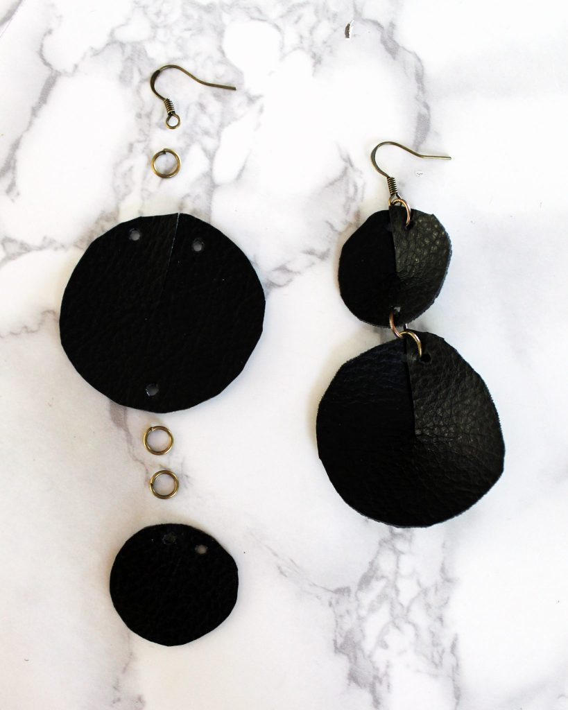 How To Make Joanna Gaines Inspired DIY Leather Earrings DIY 3 different stylish ways..