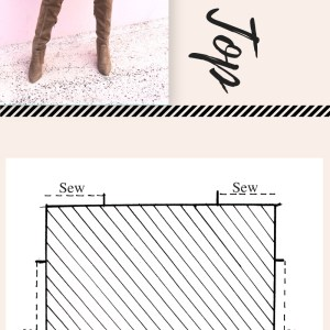 How to make a 3 step DIY draped casual square top . A great beginner sewing tutorial